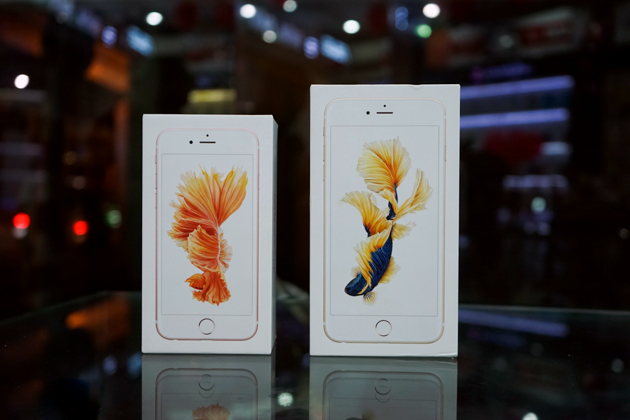 iPhone 6S bán chạy gấp 4 lần iPhone 6S Plus