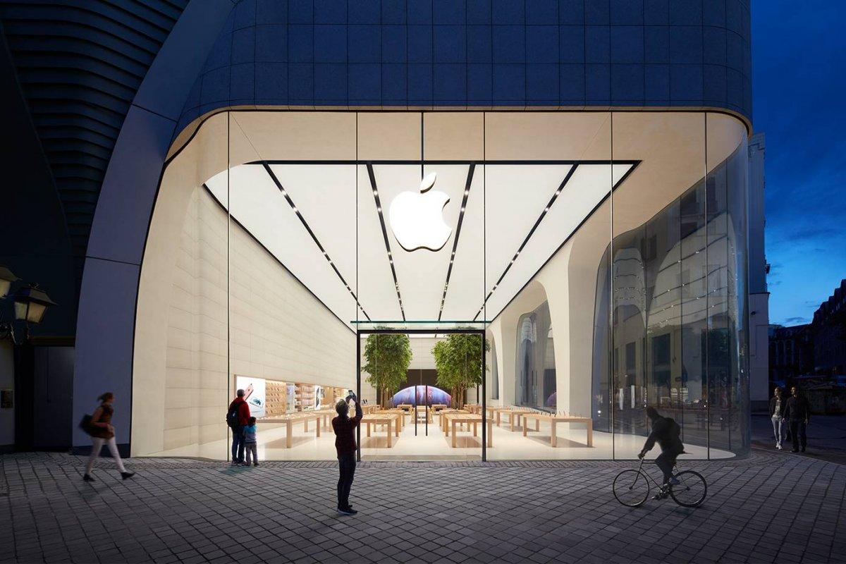 Apple Store tuyệt đẹp do 'thiên tài' Jony Ive thiết kế