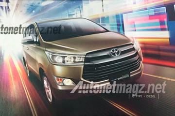 Lộ ảnh Toyota Innova thế hệ mới