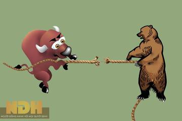 Cổ phiếu lớn đồng loạt giảm, VN-Index về sát mốc 590