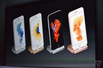 iPhone 6S là sản phẩm công nghệ được tìm kiếm nhiều nhất năm