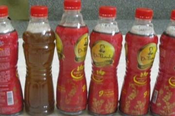 Hàng loạt chai Dr Thanh bất thường: