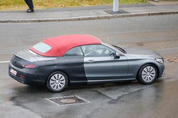 Mercedes C-class có phiên bản mui trần