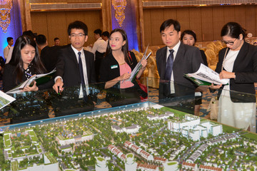 CEO Group vào Nam chào hàng dự án Sonasea Villas & Resort