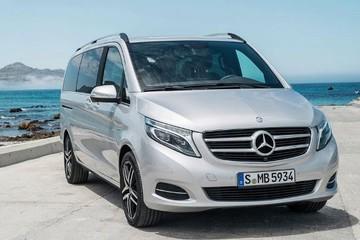 Đầu năm, hàng loạt xe Mercedes-Benz tăng giá