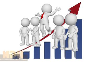Cổ phiếu vừa và nhỏ tăng trần hàng loạt, VN-Index lên hơn 6 điểm