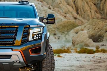 Cận cảnh siêu bán tải Nissan Titan phiên bản chiến binh