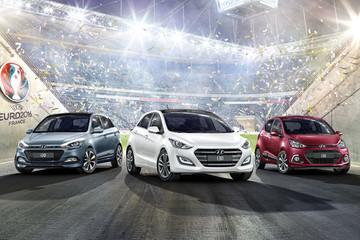 Hyundai trình làng i10, i20 và i30 tại triển lãm Geneva
