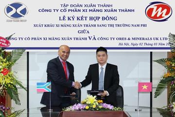 Xi măng Xuân Thành ký hợp đồng xuất khẩu tỷ USD