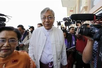 Phụ tá Aung San Suu Kyi trở thành Tổng thống Myanmar