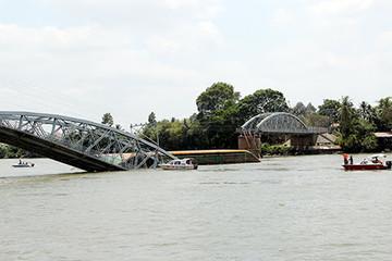 Bộ GTVT thông tin chính thức vụ sập cầu Ghềnh