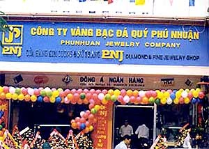 PNJ dự kiến trích lập 115 tỷ đồng khoản đầu tư DongA Bank và Địa ốc Đông Á năm 2016