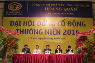 [Live] ĐHCĐ HQC: Gia đình ông Trương Anh Tuấn sẽ mua thêm 60 triệu cổ phần để nắm giữ lâu dài