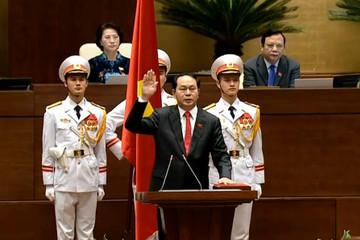Quốc hội bầu ông Trần Đại Quang làm Chủ tịch nước