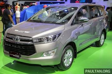 Cận cảnh Toyota Innova phiên bản cao cấp nhất