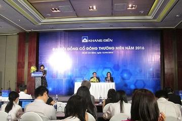 ĐHCĐ KDH: Chúng tôi tin tưởng chắc chắn đạt được 400 tỷ LNST năm 2016