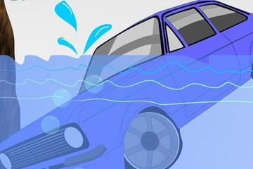 Kỹ năng giúp bạn sống sót trong trường hợp xe bị chìm xuống nước