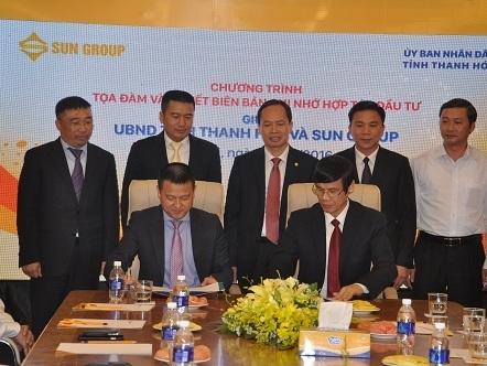 Sun Group đầu tư 10.000 tỷ đồng làm dự án du lịch nghỉ dưỡng ở Thanh Hóa
