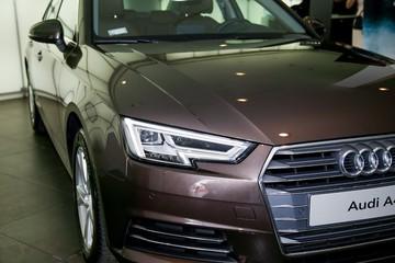 Audi Việt Nam công bố sedan A4 hoàn toàn mới