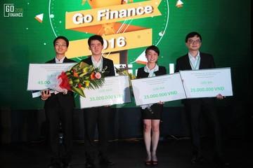 Sinh viên Học viện ngân hàng vô địch cuộc thi Go Finance 2016