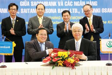 Sacombank hợp tác với tập đoàn lớn thứ 4 Nhật Bản
