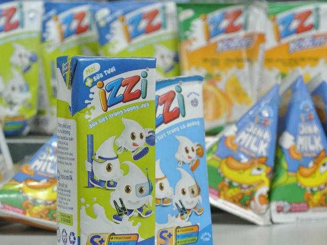 Hanoimilk cắt chức phó tổng giám đốc vì thương hiệu sữa IZZI