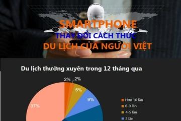 [Infographic] Thói quen du lịch của người Việt thay đổi ra sao khi có smartphone?