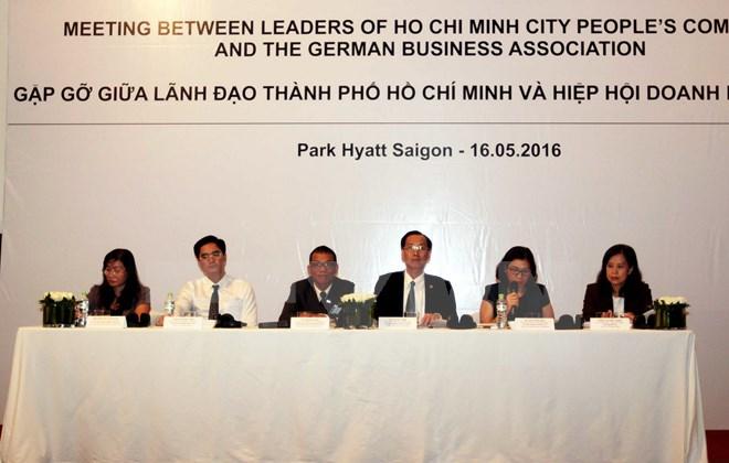 70 doanh nghiệp Đức tìm kiếm cơ hội đầu tư tại TP. Hồ Chí Minh