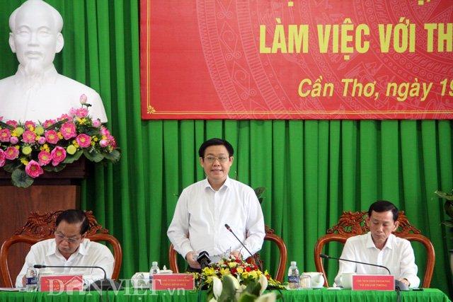 PTT Vương Đình Huệ chỉ đạo xử lý nợ tại Nông trường Sông Hậu