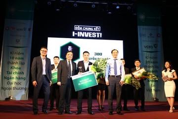 Sinh viên Đại học KTQD đạt giải quán quân cuộc thi I-INVEST! 2016