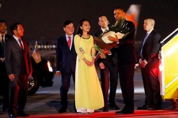 Tổng thống Obama đã đến Hà Nội