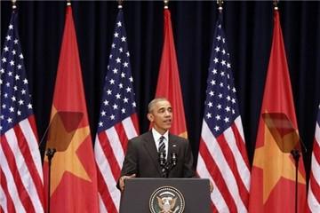 Toàn văn phát biểu của ông Obama về quan hệ Mỹ-Việt