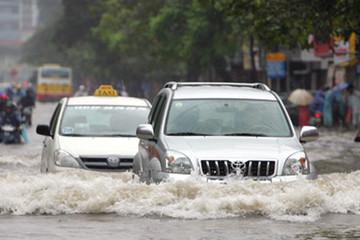 Kinh nghiệm đi xe đường ngập lụt