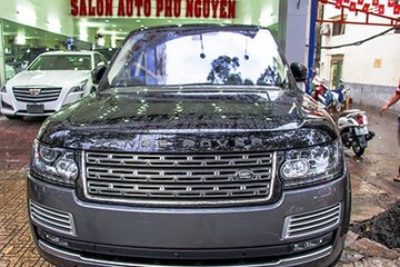Phiên bản Range Rover Black Edition đặc biệt về Việt Nam