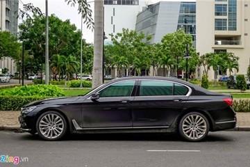Chi tiết BMW 750Li đèn pha laser gần 6,5 tỷ ở Sài Gòn
