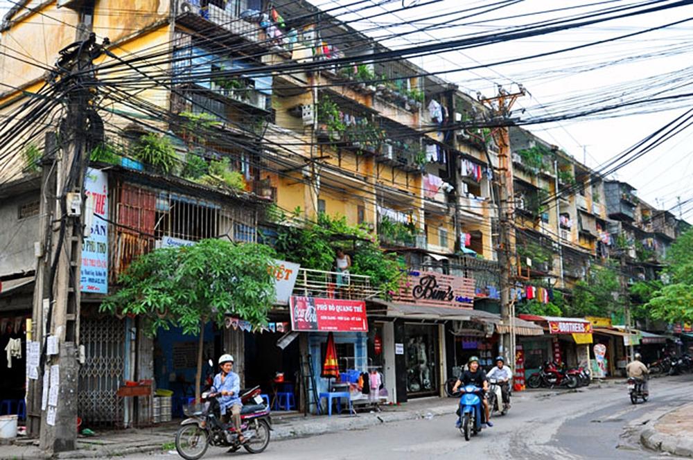 """""""Nóng"""" chuyện cải tạo tập thể cũ Hà Nội: Chủ tịch Nguyễn Đức Chung kêu gọi đầu tư 10 dự án"""
