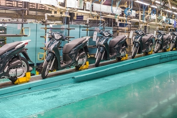 Thị trường xe máy Việt: Đến Honda cũng không thể mỉm cười