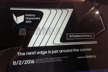 Samsung Galaxy Note 7 sẽ trình làng vào ngày 2/8