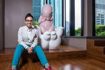 Phú nhị đại Trung Quốc học cách yêu nghệ thuật