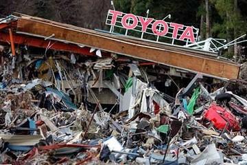 Động đất kéo xuất khẩu Nhật Bản sụt giảm
