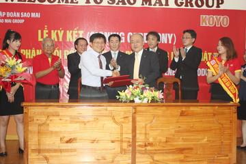 Sao Mai Group ký kết thỏa thuận hợp tác bổ sung với Koyo Corporation của Nhật Bản