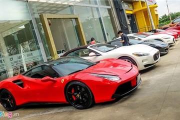 Những siêu xe đắt tiền nhất về Việt Nam trước khi tăng thuế