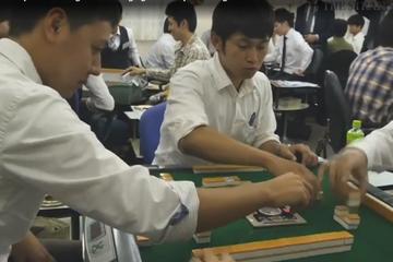 Cách tuyển dụng độc đáo tại Nhật: chơi mạt chược để chọn nhân tài
