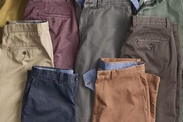 Chinos, loại quần bất cứ nam giới nào cũng nên có