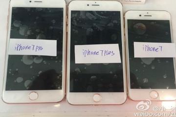 3 phiên bản của iPhone 7 bất ngờ 'lộ diện'
