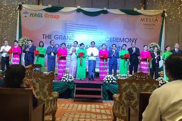 Hoàng Anh Gia Lai chính thức khai trương Khách sạn Melia Yangon