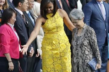 Đến thăm Nhà Trắng, vợ Thủ tướng Singapore