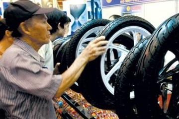 """Săm lốp xe máy Việt Nam chưa """"thoát"""" được án thuế tại Thổ Nhĩ Kỳ"""