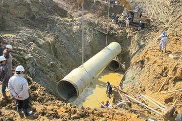 Chủ đường ống nước Sông Đà huỷ mua đường ống Trung Quốc