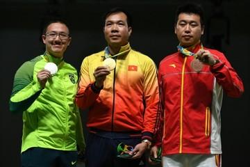 Hoàng Xuân Vinh đã vượt qua những ai để giành huy chương vàng Olympic?